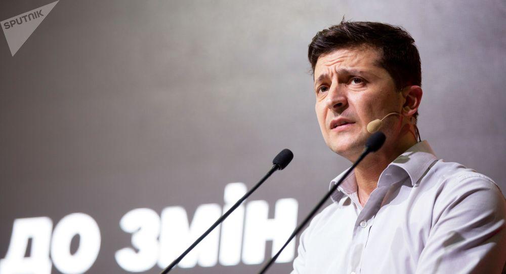 Украинанын президенти Владимир Зеленский. Архив