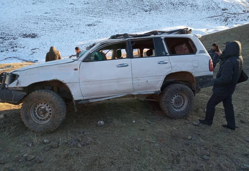 Последствия ДТП с бывшим министром транспорта КР Аргынбеком Малабаевым