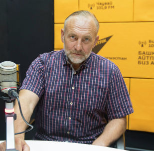 Президент Международной ассоциации ветеранов подразделения антитеррора Альфа в КР Юрий Погиба. Архивное фото