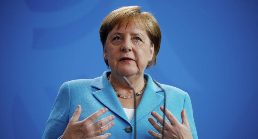 Германиянын канцлери Ангела Меркель