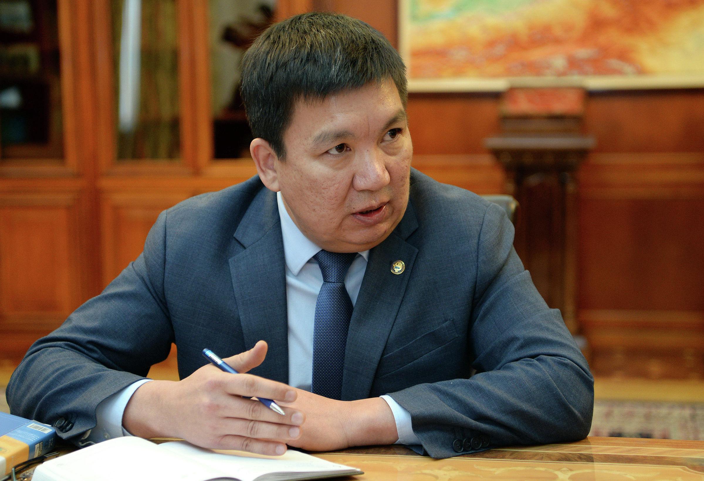 Министр транспорта и дорог Кыргызстана Жанат Бейшенов