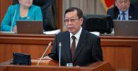 Архивное фото экс-председателя Государственного комитета национальной безопасности Кыргызской Республики Бусурманкул Табалдиев