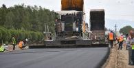 Ход строительства объездной автодороги Балыкчи — Чолпон-Ата — Корумду