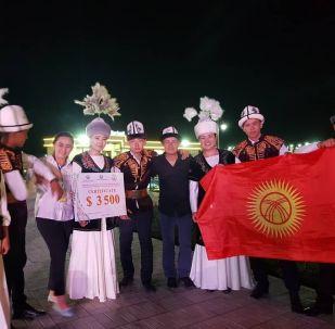 Ансамбль Ибарат из Кыргызстана стал победителем международного фольклорного музыкального фестиваля Великий Шелковый путь в Узбекистане