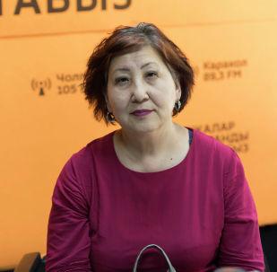 Врач-колопроктолог с 30-летним стажем Гульмира Асанбекова
