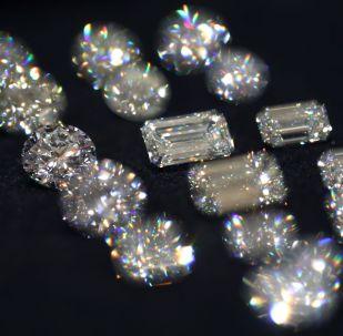 Бриллианты. Архивное фото