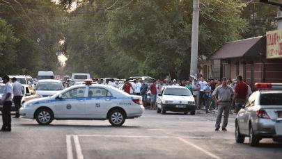 Спецоперация по ликвидации террористов в центре Бишкека. Архивное фото