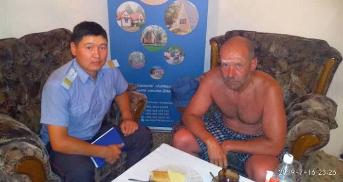 Гражданин Казахстана, который пропал на Иссык-Куле и вернулся на такси через три дня