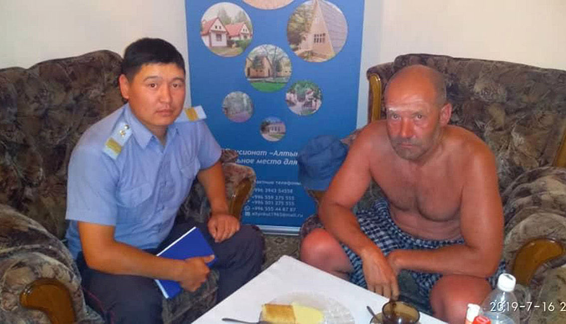 Гражданин Казахстана, который пропал на Иссык-Куле, вернулся на такси