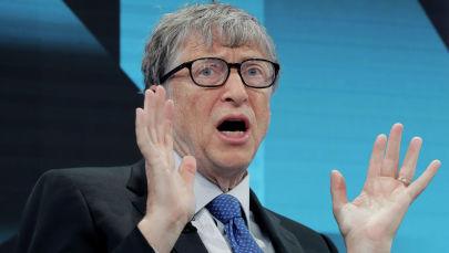 Microsoft компаниясынын негиздөөчүсү Билл Гейтс. Архив