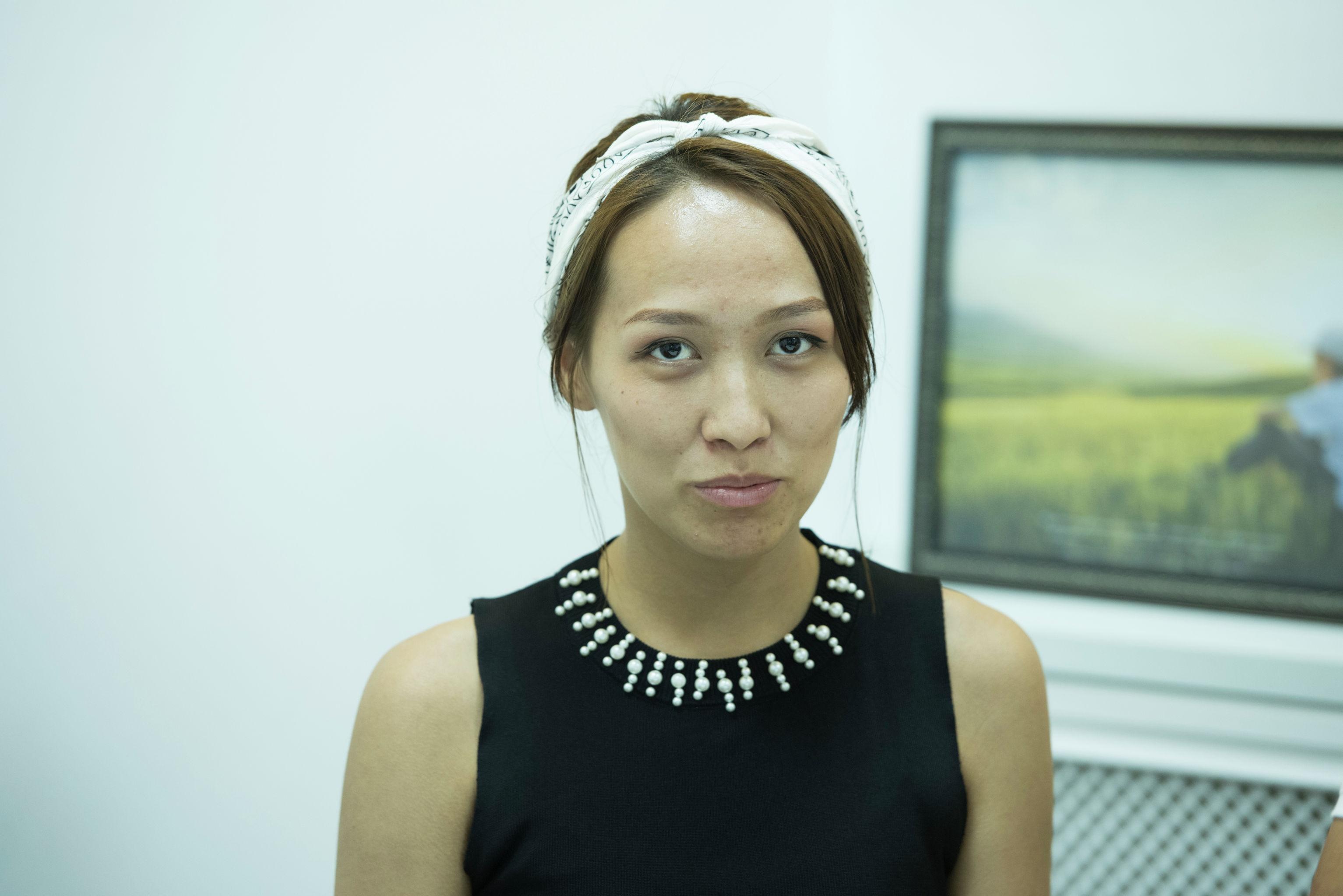 Сейде Мусажанова, которой обещали работу за границей в агентстве Амасса и забрали деньги
