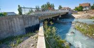 В Бишкеке завершается строительство моста по улице Токтоналиева (бывшая Душанбинская)