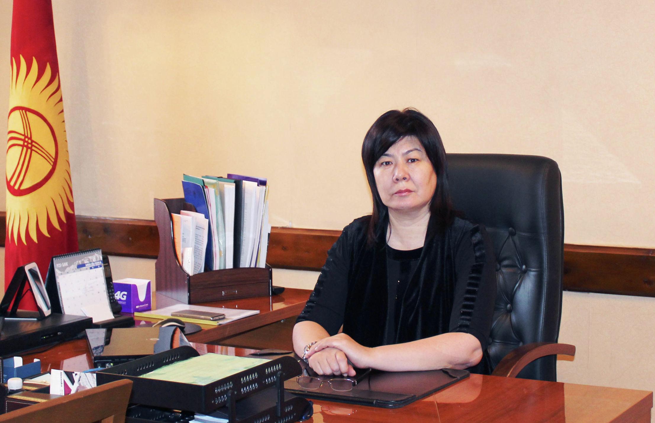 Директор департамента регистрации актов гражданского состояния при ГРС Мухабат Пратова