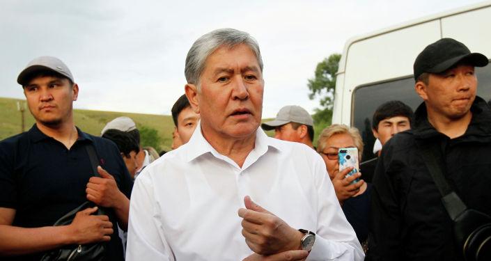 Алмазбек Атамбаев. Архив