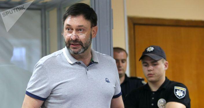 РИА Новости Украина порталынын жетекчиси Кирилл Вышинский. Архивдик сүрөт