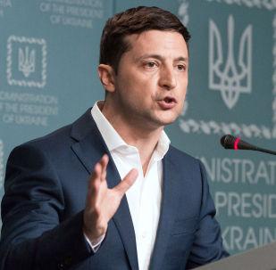 Украинанын президенти Владимир Зеленский. Архивдик сүрөтү
