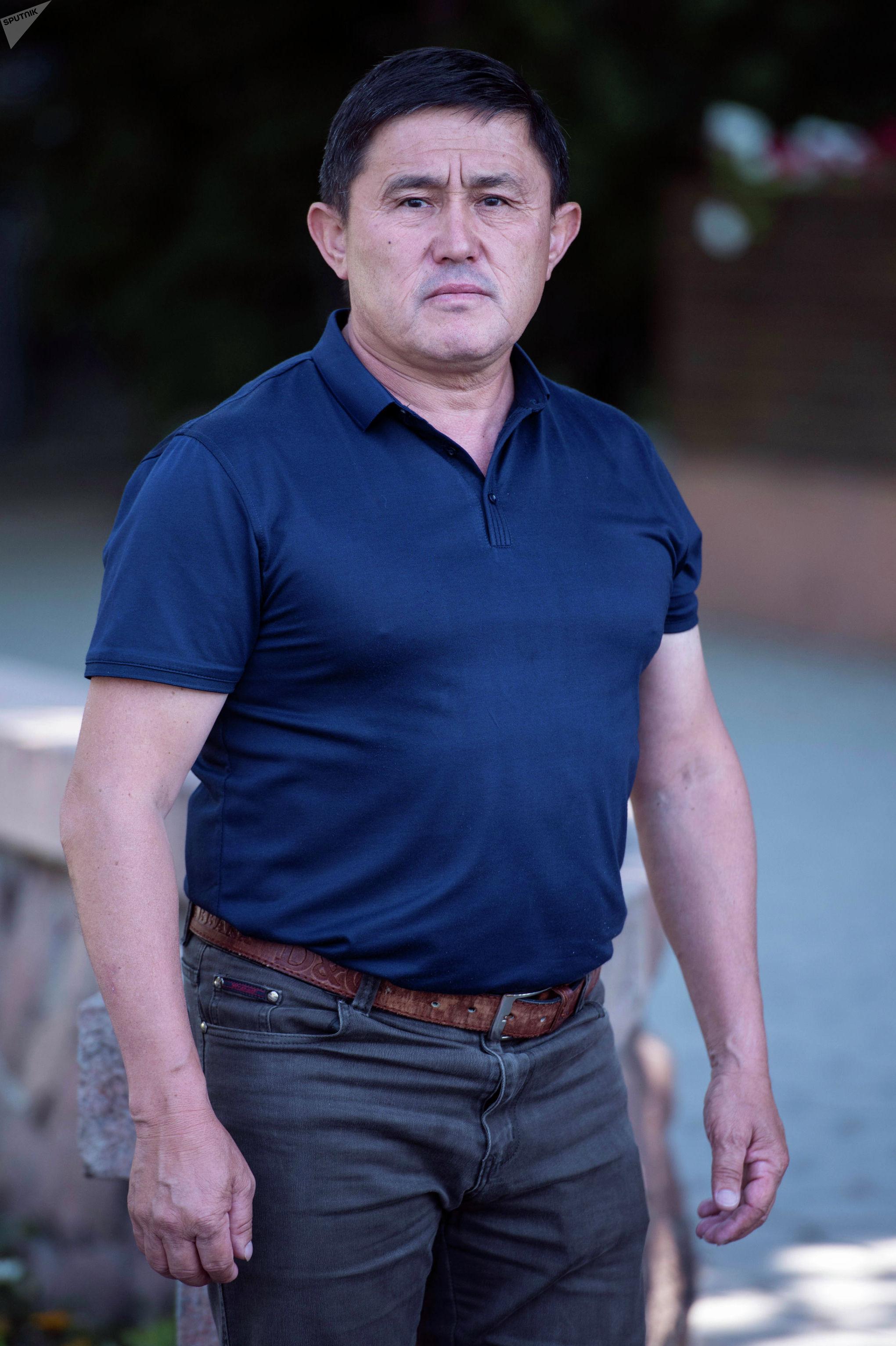Ветеран афганской войны, полковник Орозбай Колубаев