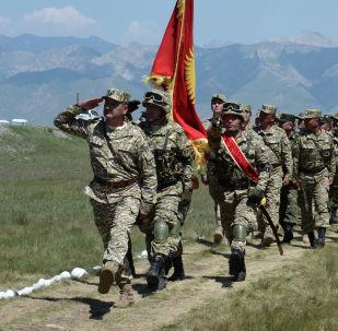 Военнослужащие Кыргызстана. Архивное фото
