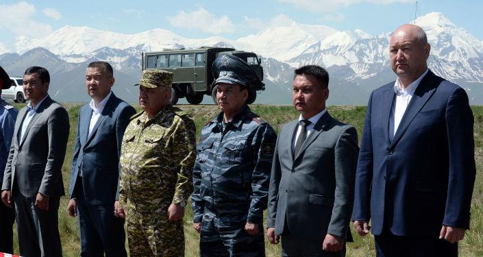 Заключительный этап специальных тактических учений Сары-Таш — 2019 на полигоне Сары-таш Чон-Алайского района Ошской области. 20 июля 2019 года