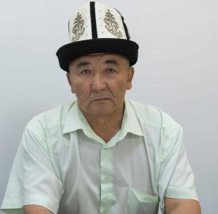 Бишкек мэриясынын жол кыймылын жана жол-транспорт инфраструктурасын уюштуруу бөлүмүнүн башчысы Мадылбек Абдразаков