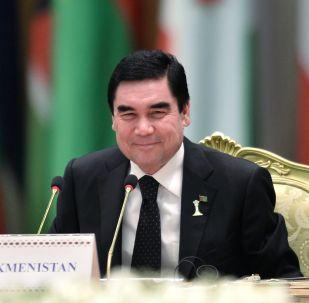Түркмөнстандын президенти Гурбангулы Бердымухамедов. Архив