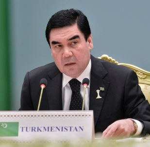Түркмөнстандын президенти Гурбангулы Бердымухамедов. Архивдик сүрөт