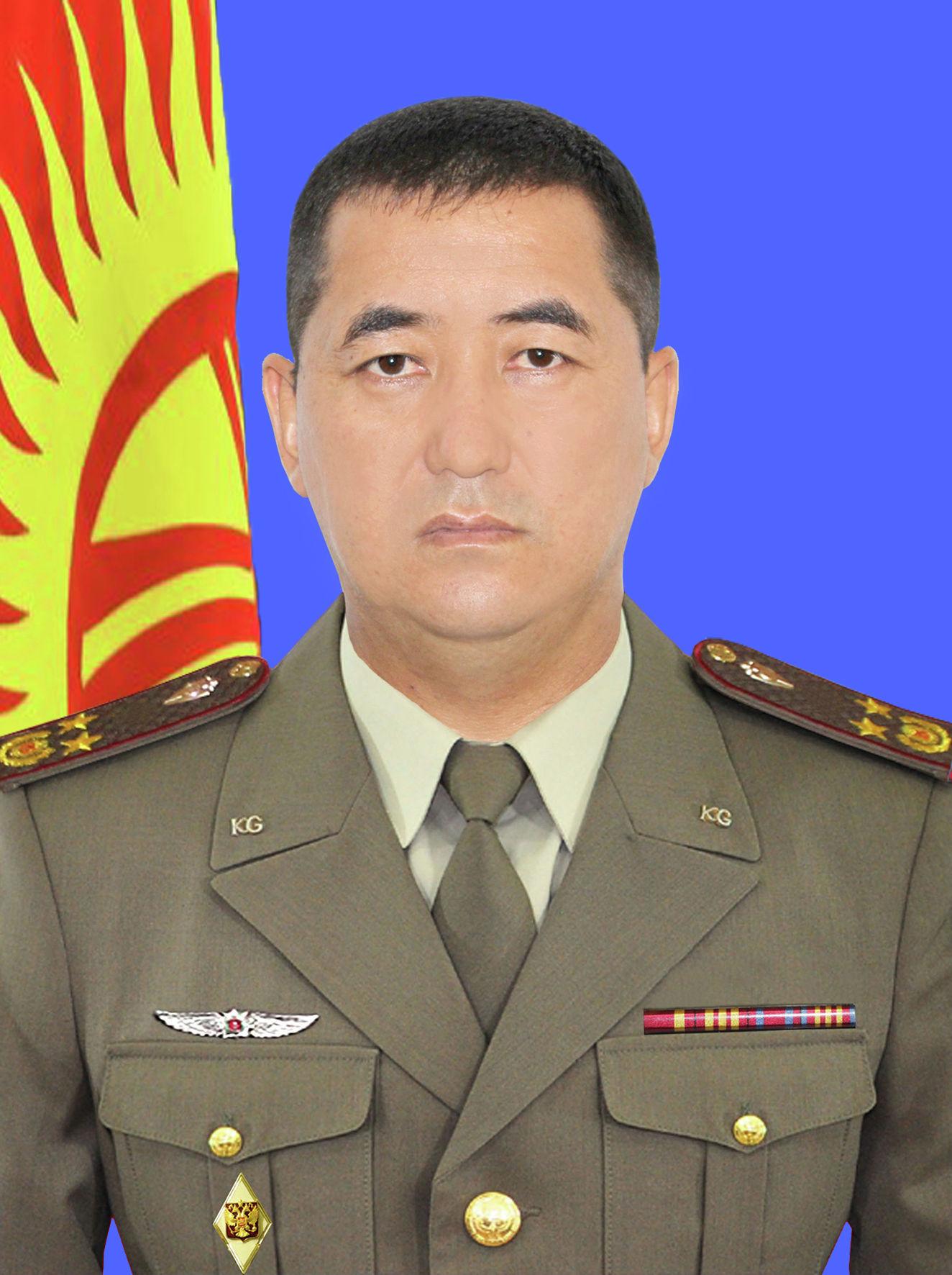 Заместитель командующего — начальник штаба внутренних войск МВД Дамир Алыбаев