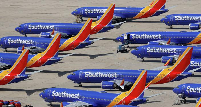 Boeing 737 MAX учактары. Архивдик сурөт