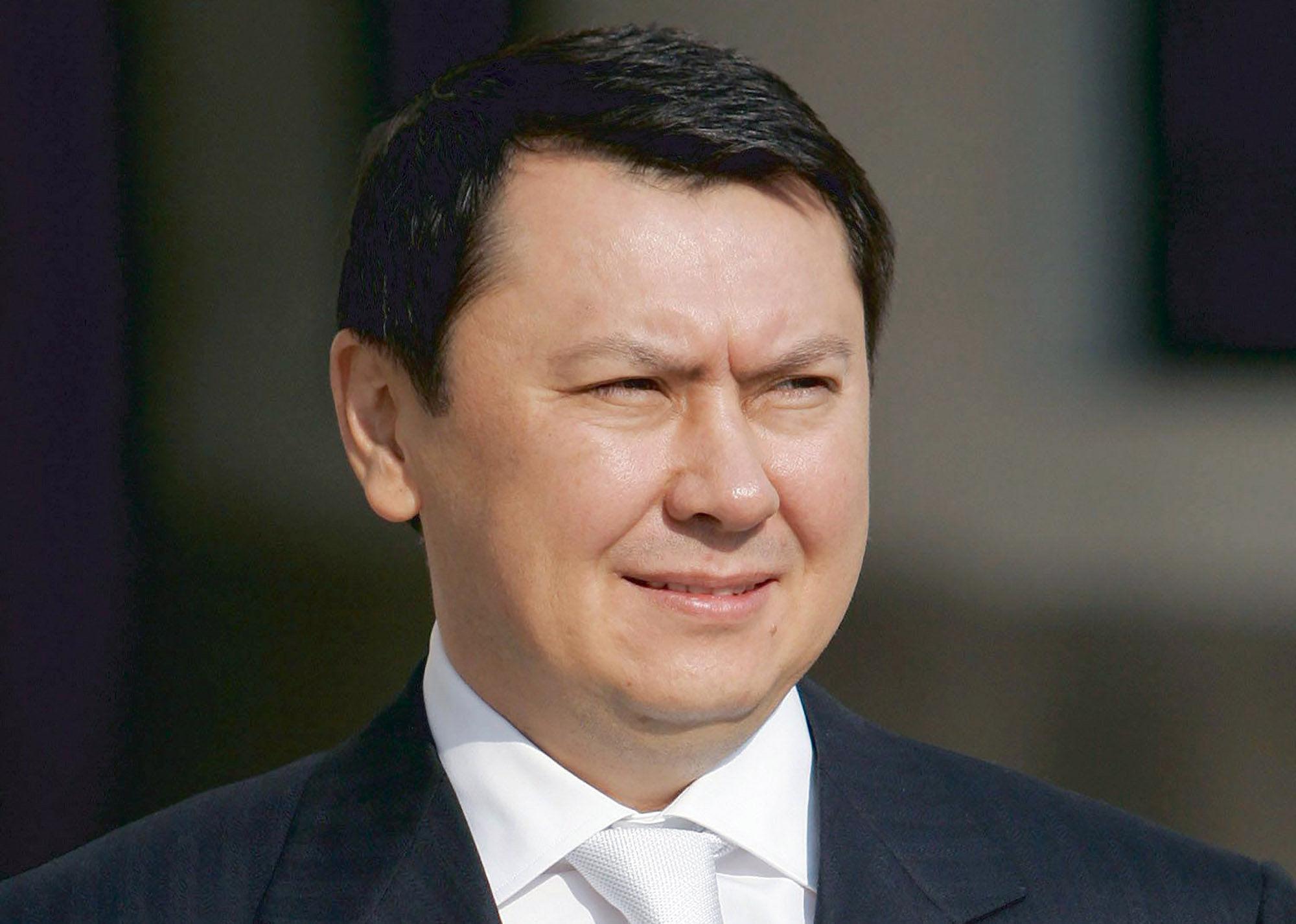 Бывший казахстанский чиновник и дипломат Рахат Алиев во время рабочего визита