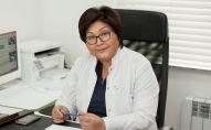 Профессор, медицина илимдеринин доктору, клиниканын директору Гүлнара Асымбекова