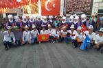 Представители Кыргызстана принимают участие в Играх тюркских народов в городе Бурсе