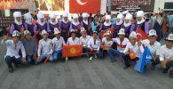 Кыргызстандыктар Түркияда өтүп жаткан Түрк элдеринин оюндарына катышты