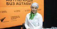 Юрист Коалиции против пыток в Кыргызстане Индира Саутова. Архивное фото