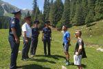 Ысык-Көл облусунда туристтик милиция. Архивдик сүрөт