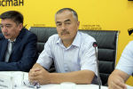 Айыл чарба жана мелиорация министрлигинин өкүлү Нурлан Абдыгулов