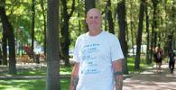 Учитель в бишкекской школе из Южно-Африканской Республики Джо Лабускахне