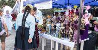 Ежегодный фестиваль традиционной культуры и ремесел Оймо в Бишкеке. Архивное фото