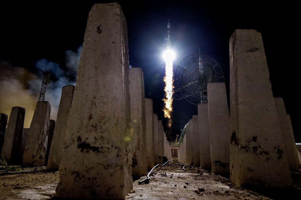 Байкоңурдагы космодромдон Россиянын Союз-ФГ ракетасы учурулду