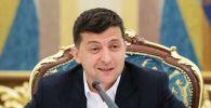 Украинанын башчысы Владимир Зеленскийдин архивдик сүрөтү