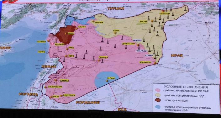 Карты и таблицы Министерства обороны России, представленные на брифинге 29 июля