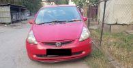 Автомобиль марки Honda Fit который был угнан в Бишкеке