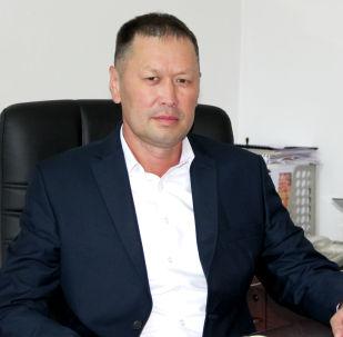 Генеральный директор ОАО Национальная электрическая сеть Кыргызстана Эмиль Куданалиев