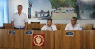 Жалал-Абад ОИИБдин жол кыймылы коопсуздугун камсыздоо бөлүмүнүн башчысы болуп Авазбек Досов