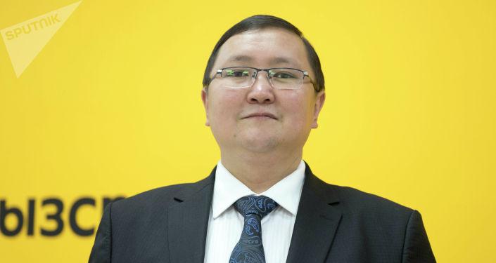 Маданият, маалымат жана туризм министринин орун басары Кайрат Иманалиев