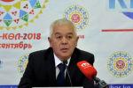 Директор Госагентства по охране окружающей среды и лесного хозяйства (ГАООСЛХ) Абдыкалык Рустамов
