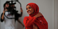 Модель в хиджабе из США Халима Аден. Архивное фото