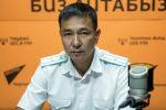 Экологиялык коопсуздук башкармалыгынын бөлүм башчысы Талантбек Кожоев