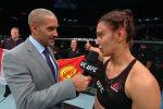 Боец UFC Антонина Шевченко после победного поединка рассказала, что она чувствовала, когда проводила удушающий прием против Люси Пудиловой и поздравила маму с днем рождения.