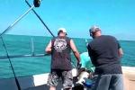 В водах Атлантического океана акула укусила за ногу поймавшего ее рыбака, сообщает Virginian-Pilot.