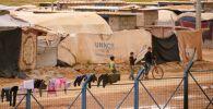 Дети в лагере беженцев. Архивное фото